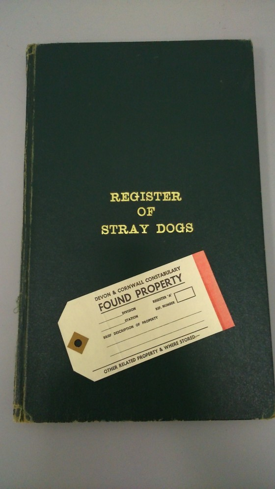 Part of a generous donation received during the project lifetime, the Register of Stray Dogs from the Newquay area covers a timespan of 1969-2009