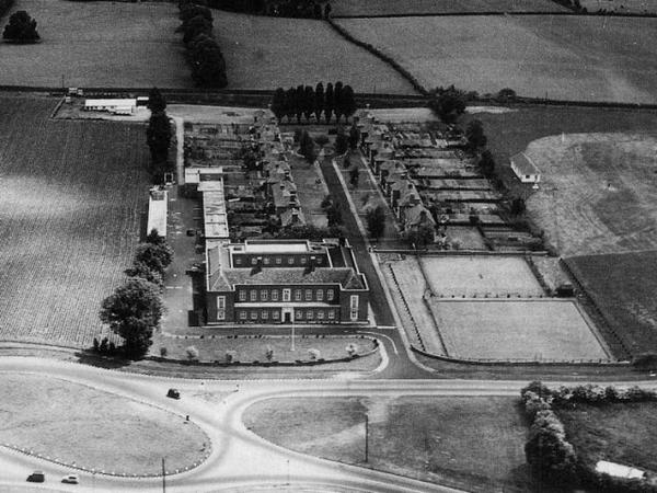 Devon and Cornwall Police HQ, Middlemoor, in the 1950s