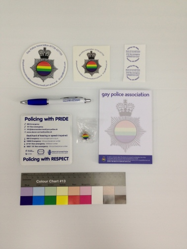 The Gay Police Association donated this fantastic collection