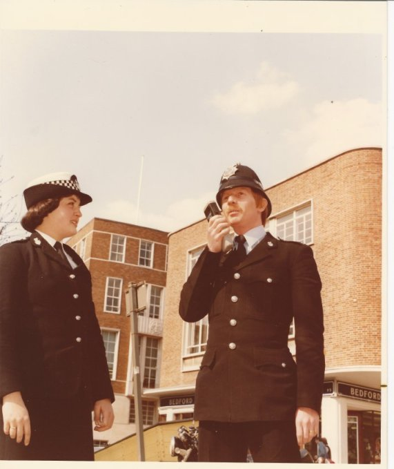 1970s police officers in Exeter