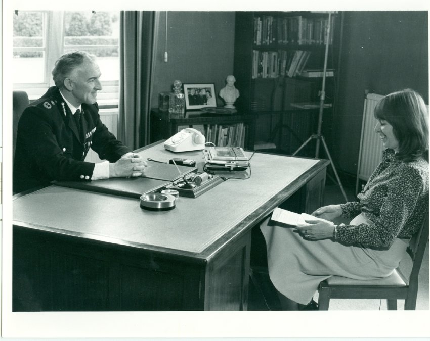 Chief Constable John Alderson interviewed in the 1970s