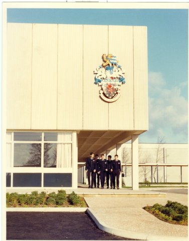 Opening of the Training College at Middlemoor, Exeter (1973)