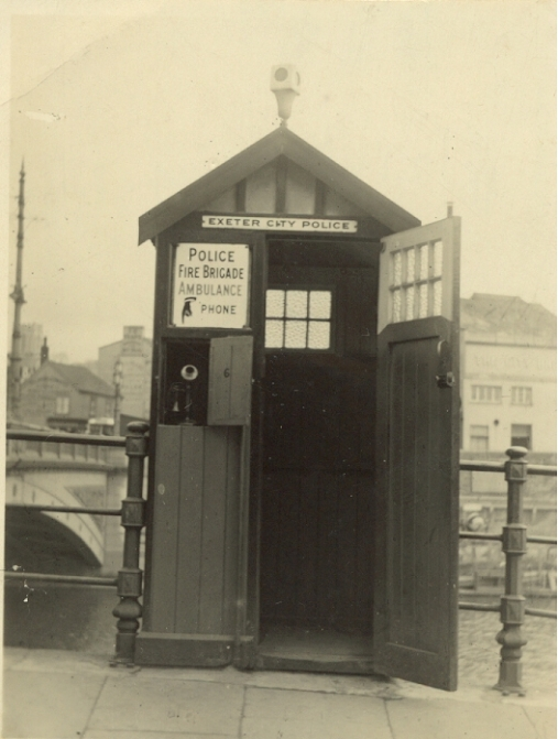 Exeter City Police Box (1925)
