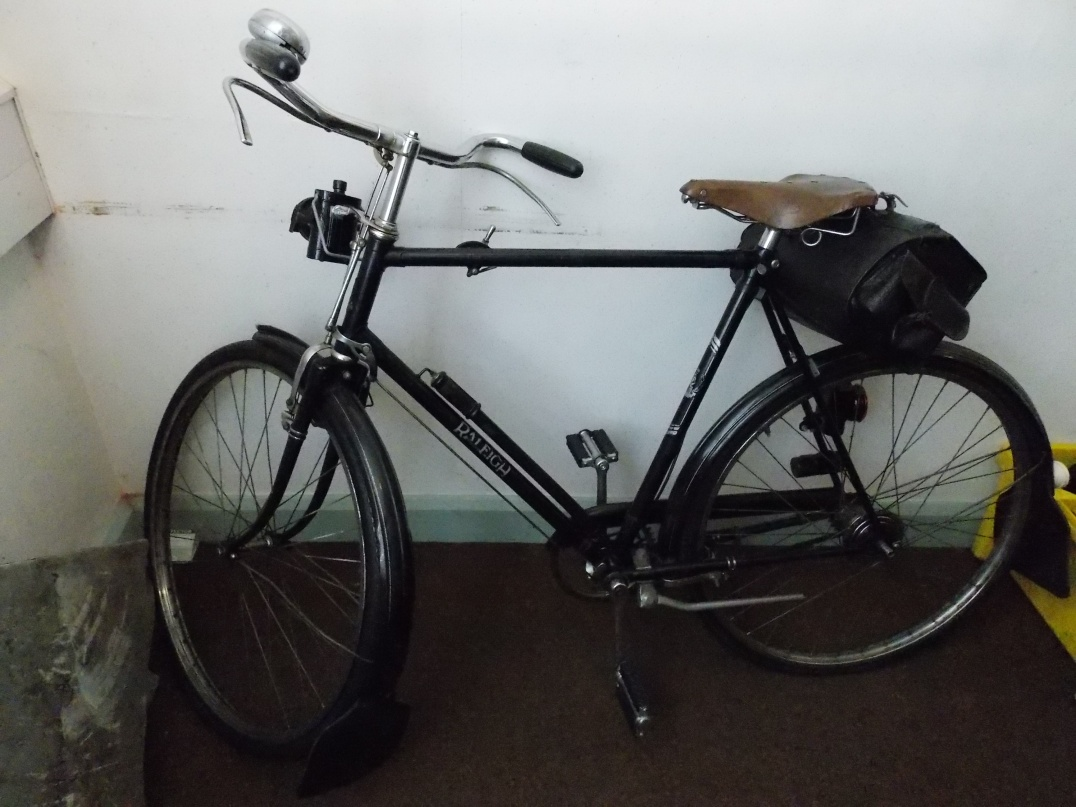 A police bicycle