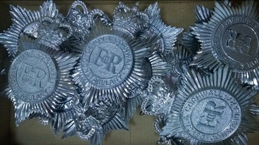 Devon and Cornwall Constabulary helmet plates
